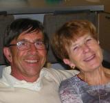 "Photo de Chrys & Jean Beretta, propriétaires de ""Villa Terre Brûlée"""