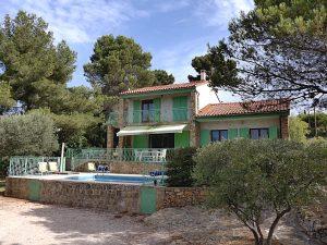 Location saisonnière d'une villa avec piscine à Ceyreste La Ciotat