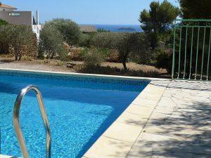piscine villa de vacances La Ciotat tout près des calanques